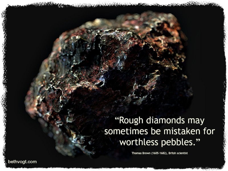 In Others' Words: Diamonds in the Rough | Beth K  Vogt